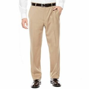 Stafford Classic Fit MenTan 38 x 30 Stretch Pants